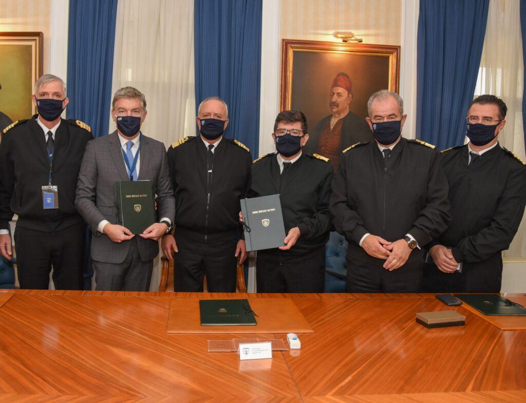 Μνημόνιο συνεργασίας του Γενικού Επιτελείου Ναυτικού με την HOPEgenesis.